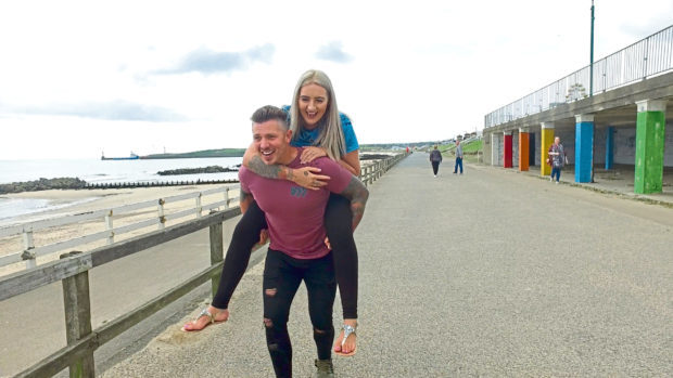 Leanne and Calvin