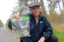 Paul Anderson has been picking up drug paraphernalia from the side of the road near his home in Tarland