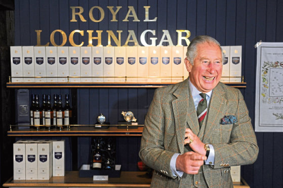 The Duke of Rothesay at Royal Lochnagar Distillery