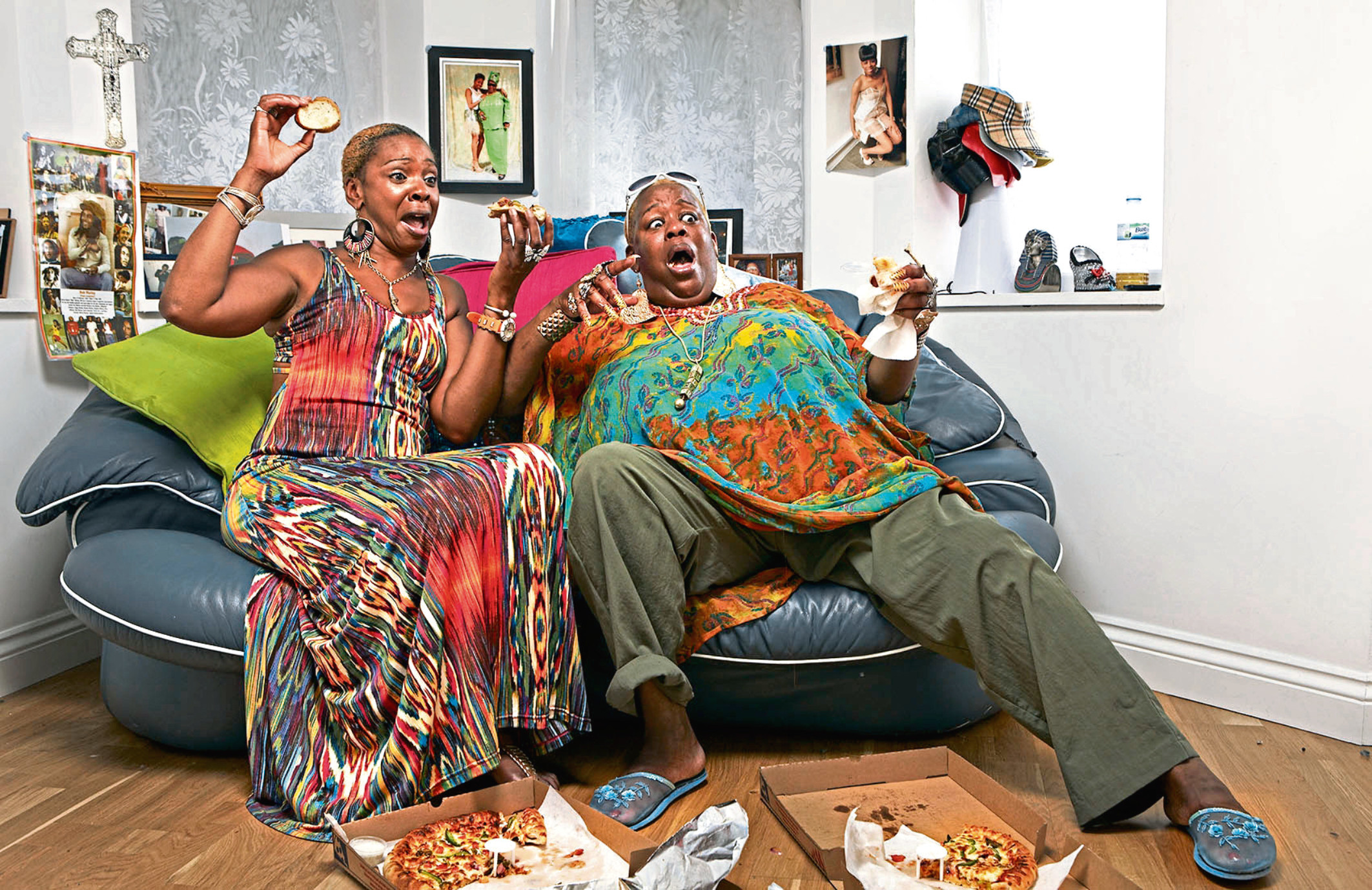 Gogglebox stars Sandy and Sandra