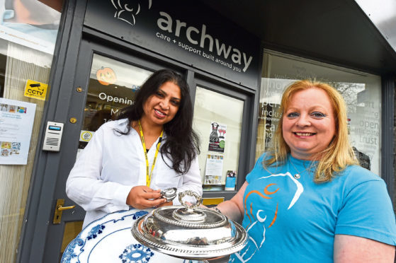Archway are holding an auction of some of their most valuable donated goods
