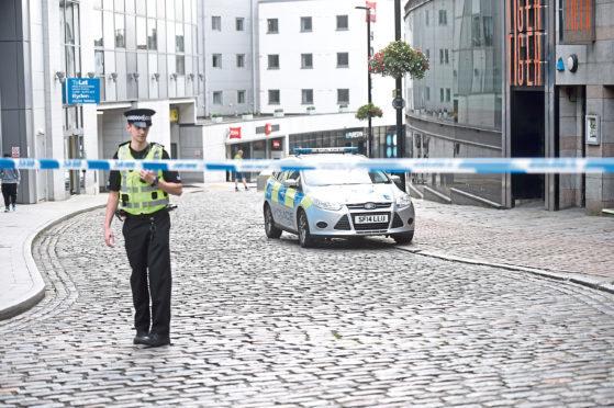 Police on Shiprow