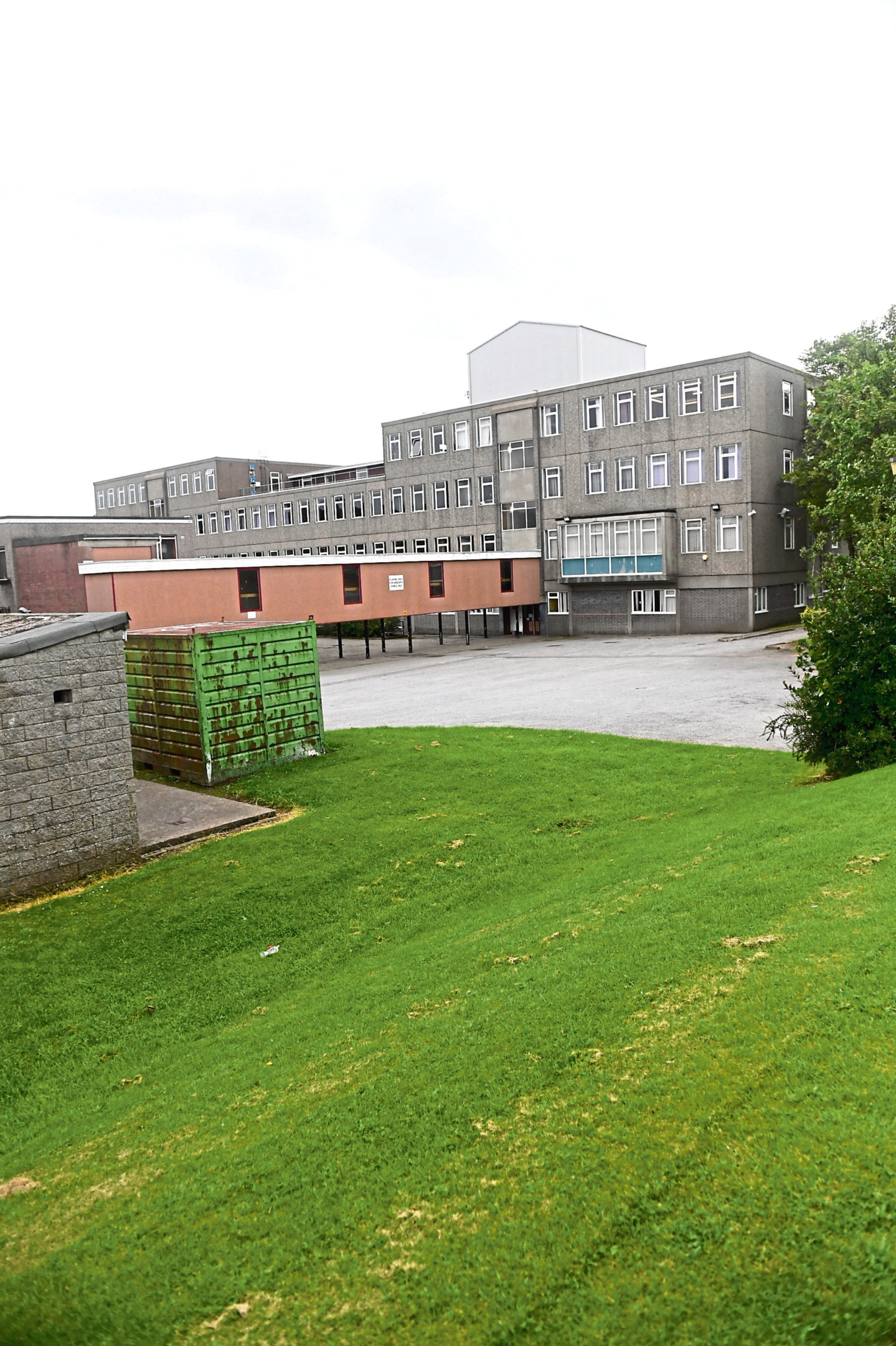 Kincorth Academy has been vandalised and security will be stepped up