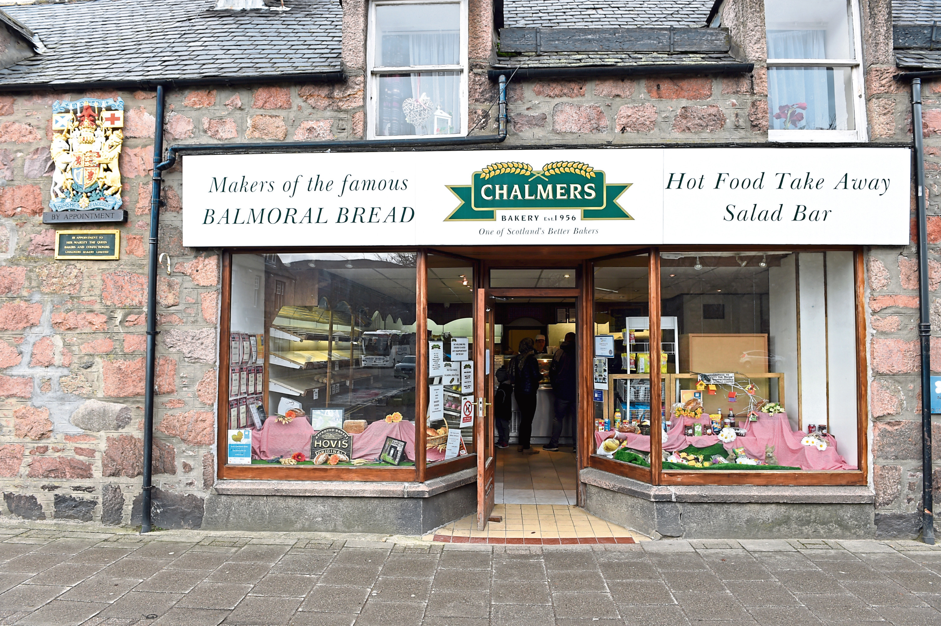 Chalmers Bakery on Golf Road, Ballater