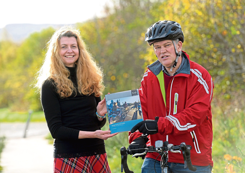 Rachel Martin and Councillor Martin Ford