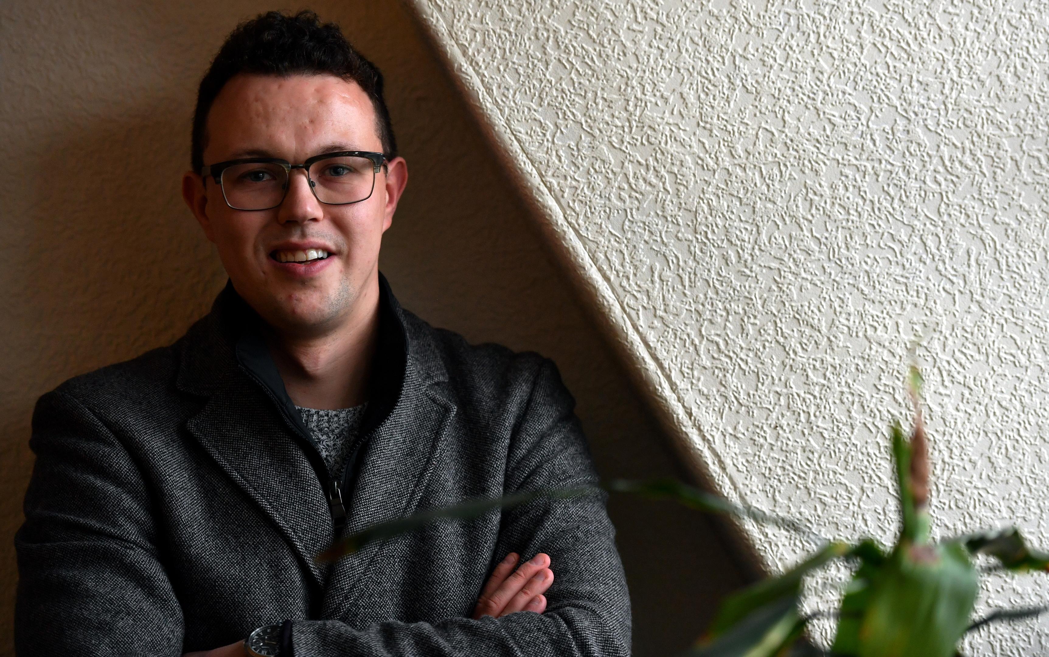 MHA fundraising manager Matt Connolly