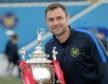 Jamie Watt with the Evening Express Aberdeenshire Cup.