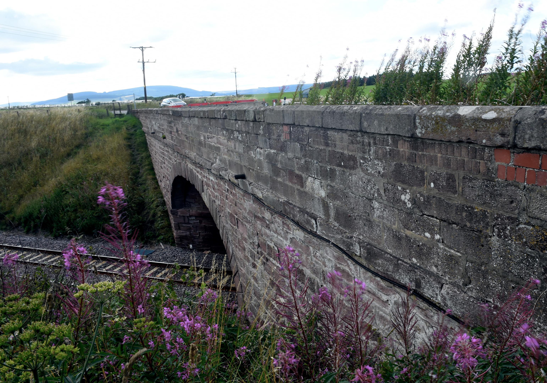 The former Abbeyton Bridge