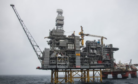 Mariner platform with the Safe Boreas. Photo credit: Jamie Baikie/Statoil