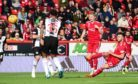 Aberdeen's Connor McLennan scores to make it 2-0 against St Mirren.