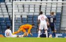 Portugal's Helder Costa scores to make it 1-0.