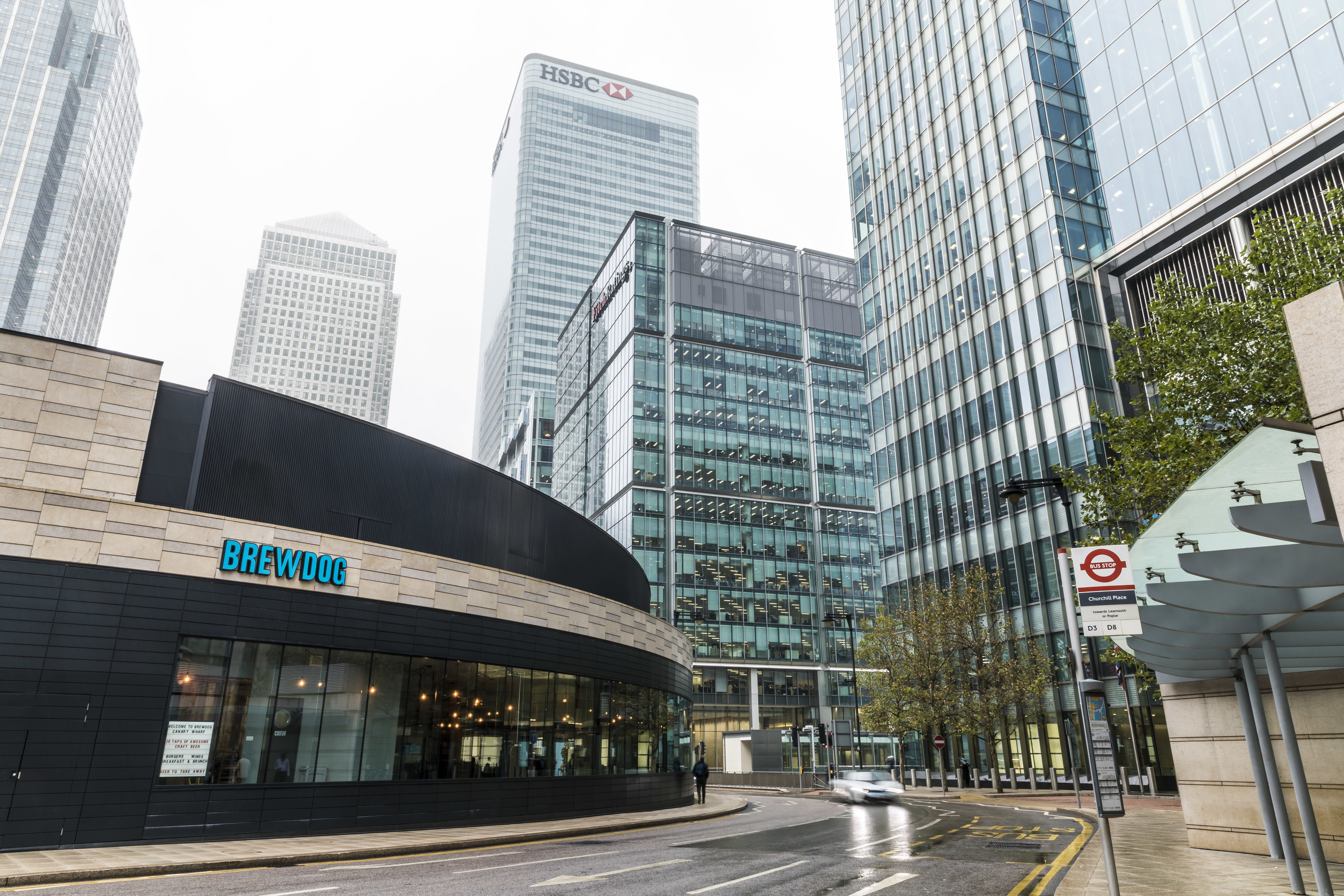 BrewDog is expanding its network of UK bars with the launch of its first bar in the financial district of Canary Wharf