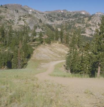 Squaw Valley in California where Alice Mezincescu will compete in the Western States 100 mile race.