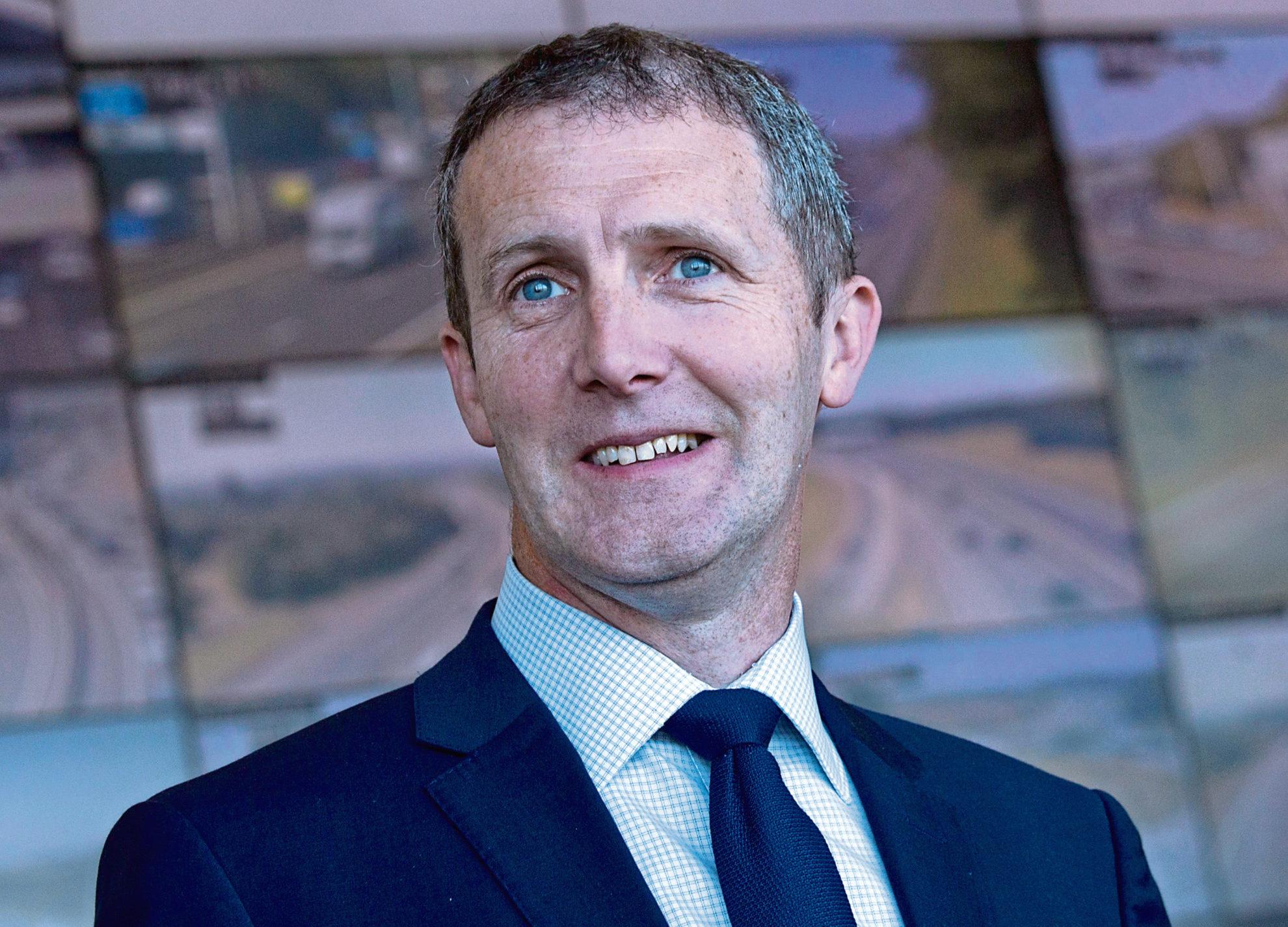 Transport Secretary Michael Matheson