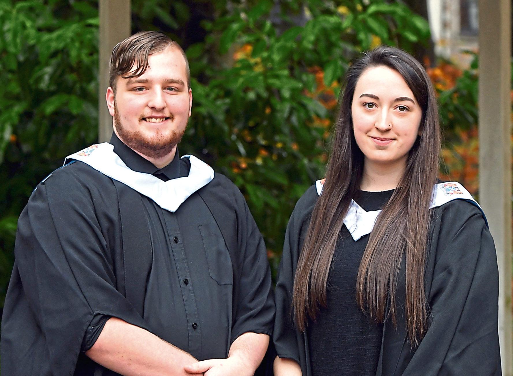 Andrew Main and Chloe Jamieson