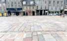 Repair work was carried out on the Castlegate
