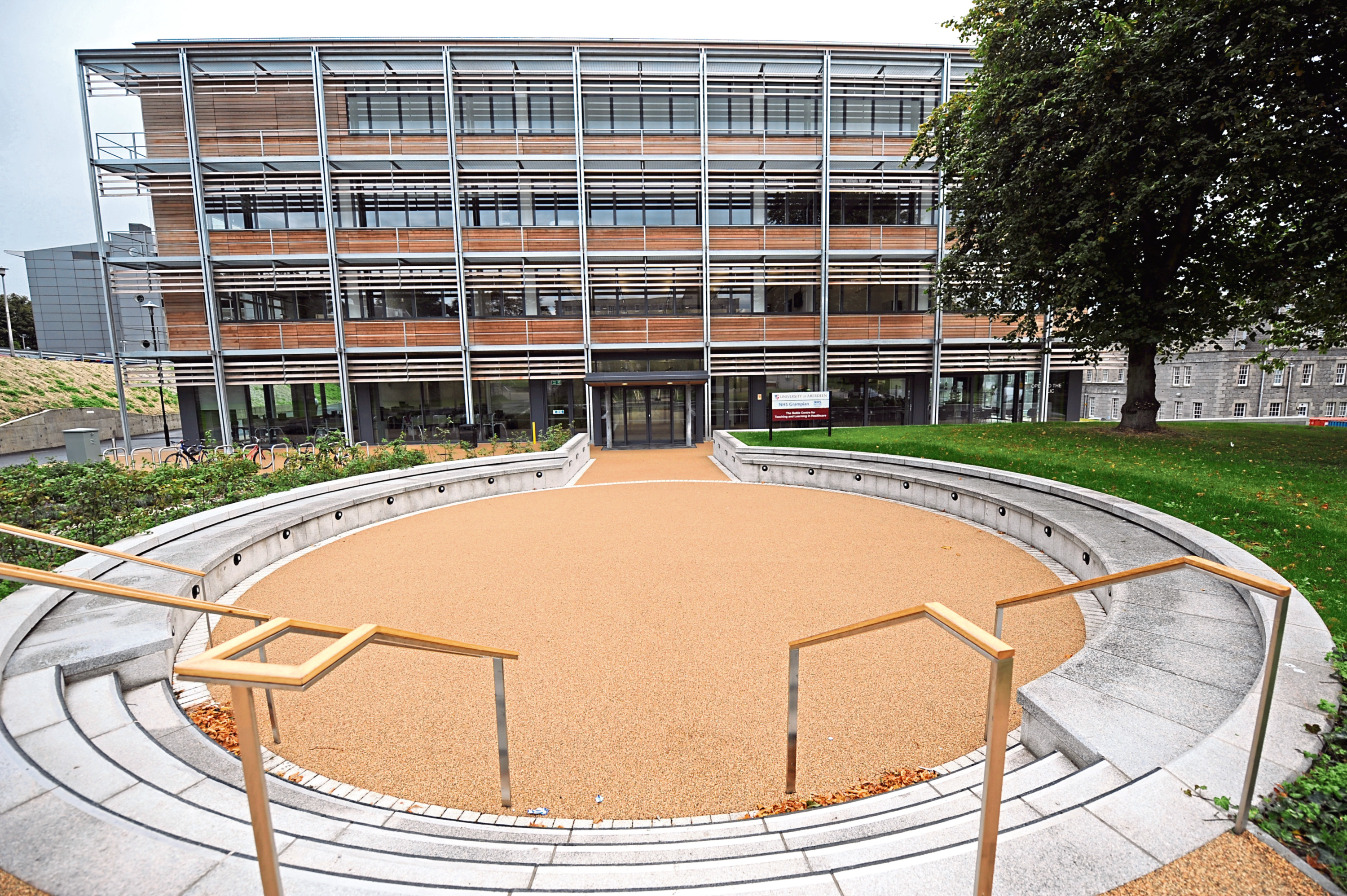 The Suttie Centre has been turned into a temporary centre for re-training NHS workers