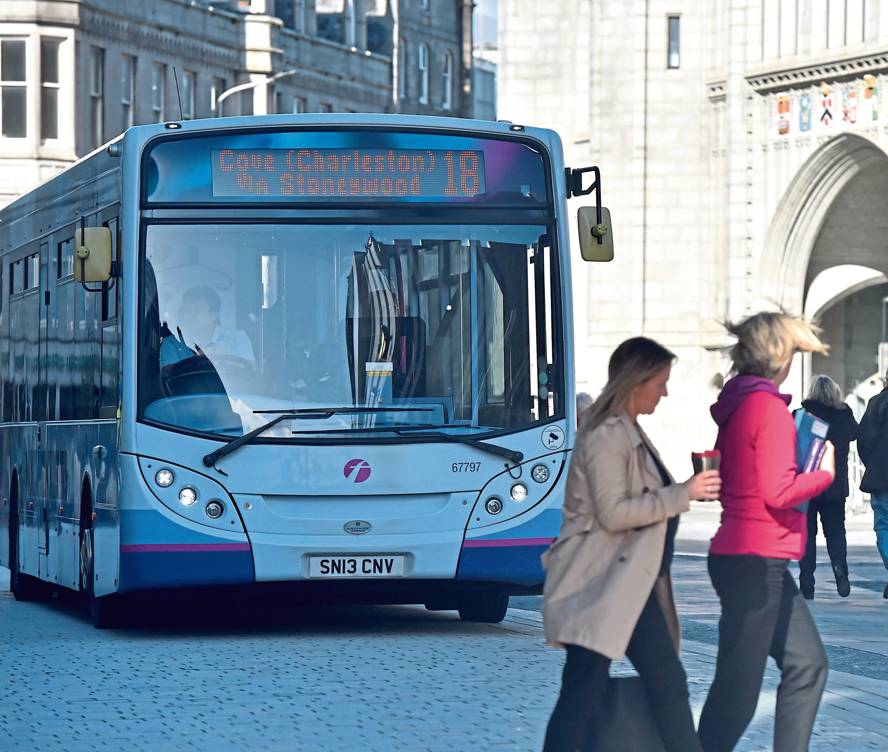 The pedestrianised area of Broad Street has raised safety concerns
