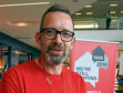 Mark Thomson, the hub manager at Shelter Scotland in Aberdeen