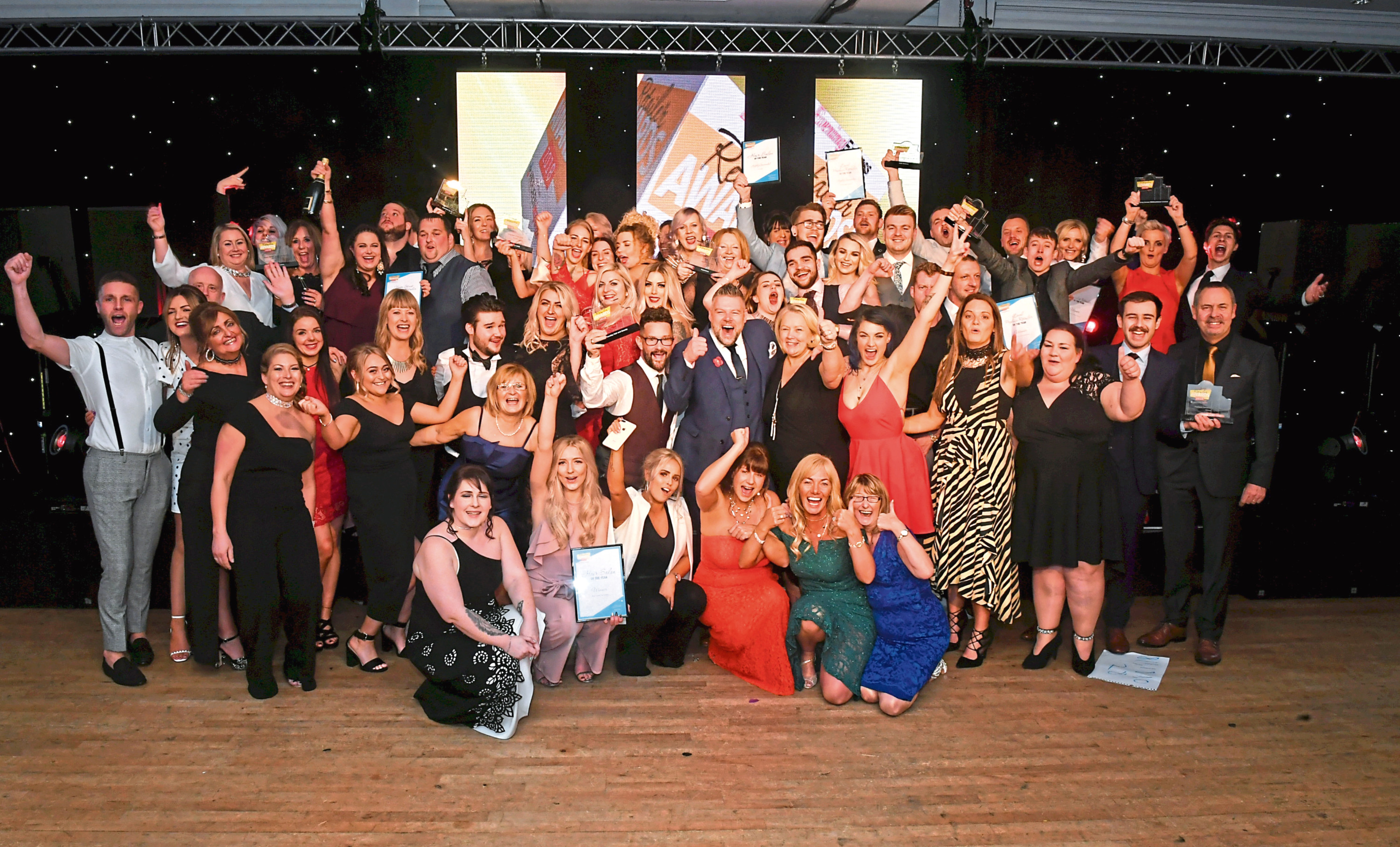 Businesses from across the north-east were honoured at the awards