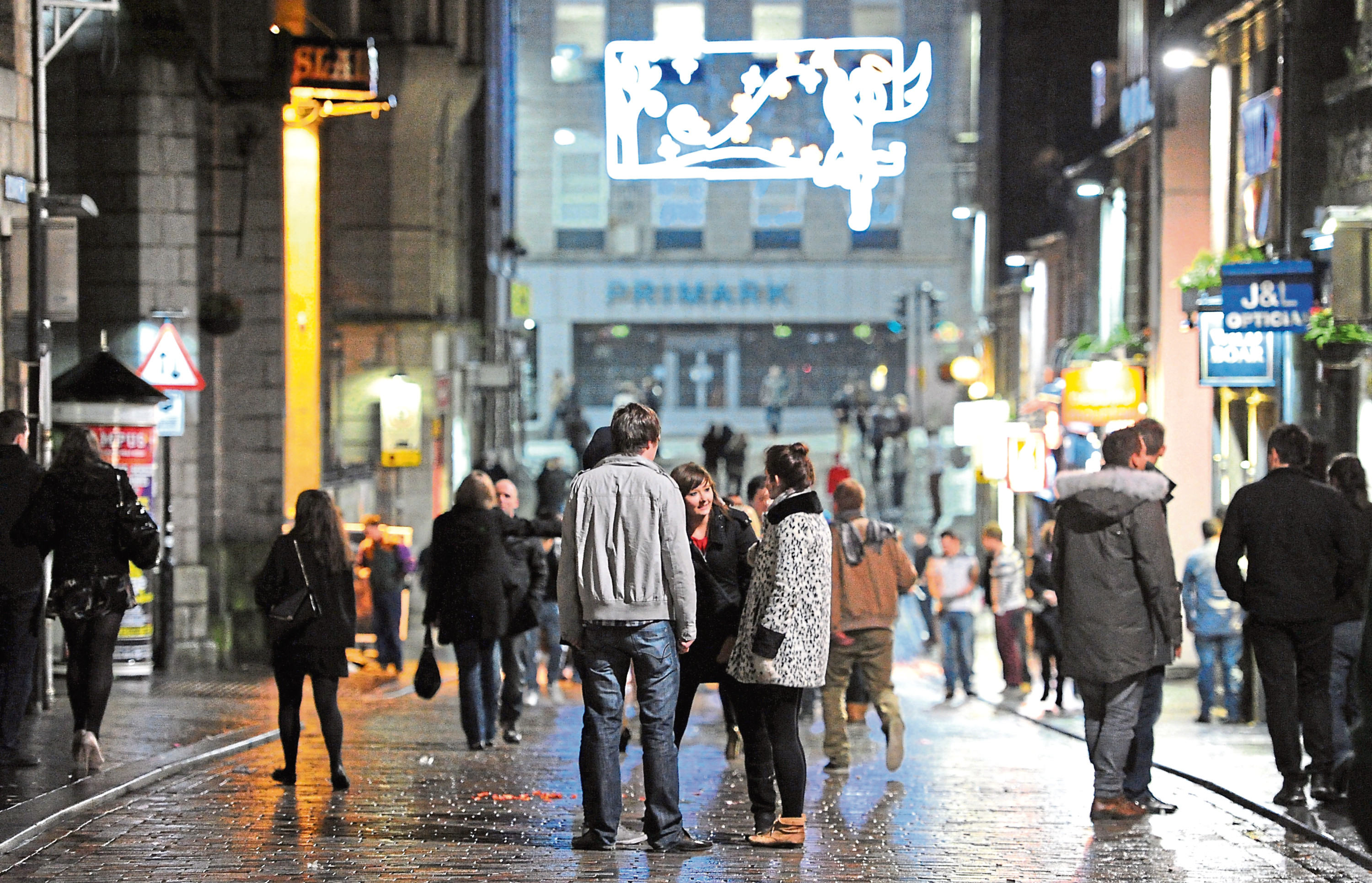 Revellers in Aberdeen city centre could take advantage of longer opening times.