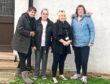 Management committee, from left, Sandra Wood, Sandra Falconer, Pam Farmery and Diane Dalgarno outside the community centre