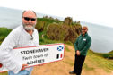 Stonehaven forged links with Acheres in France earlier this year