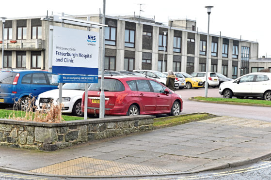 Fraserburgh Community Hospital has merged wards