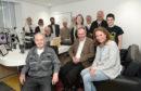 Volunteers at Grampian Hospital Radio.