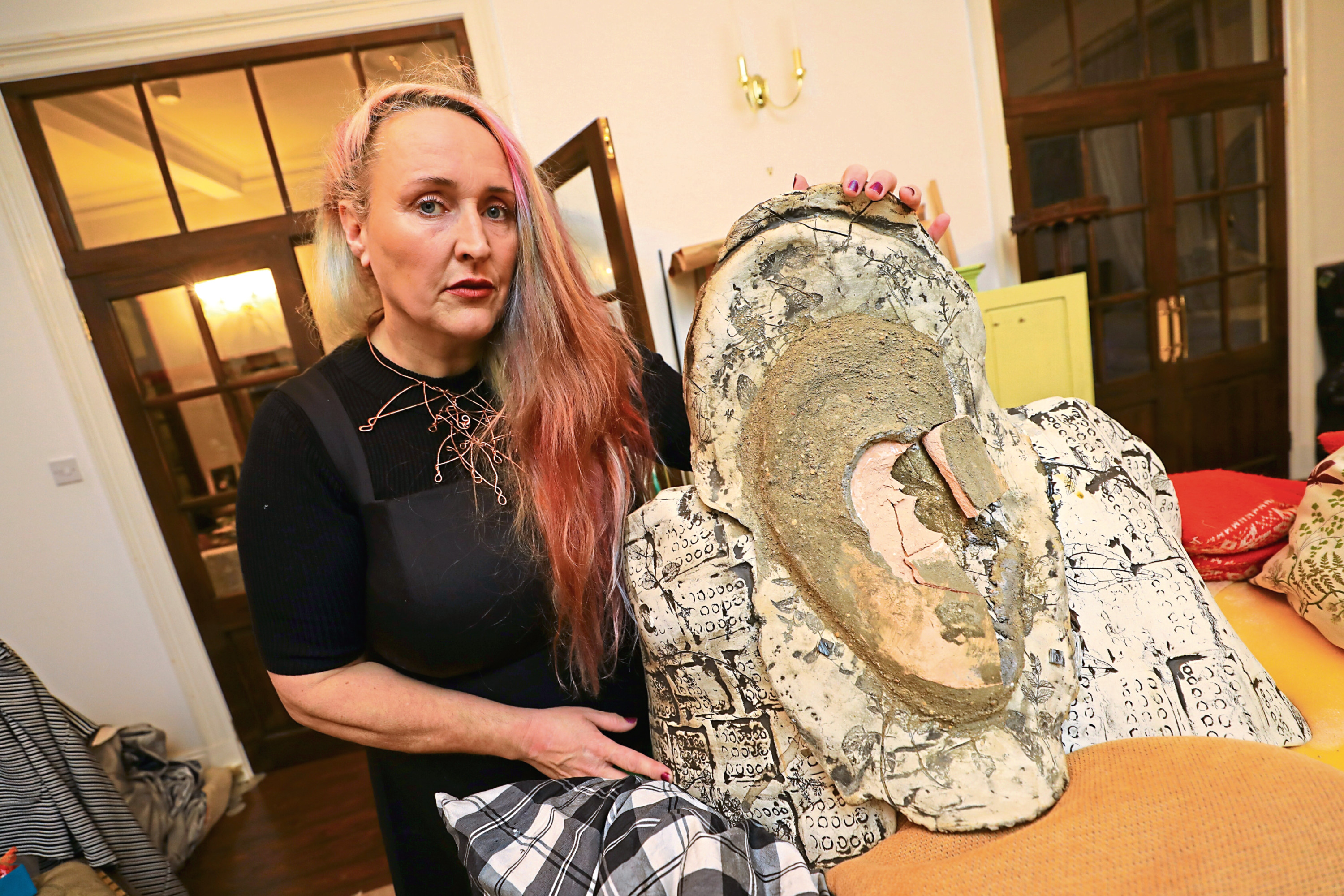 The artwork was made by sculptor Karen Elliot who has now launched a campaign to raise £7,000 to fund a replacement