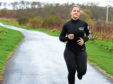Nicola Buchan training for the run