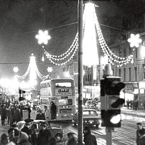 1967: Disappointment reigned following the cancellation of the parade involving 22 floats which was to have marked the switch-on of Aberdeen's Christmas lights