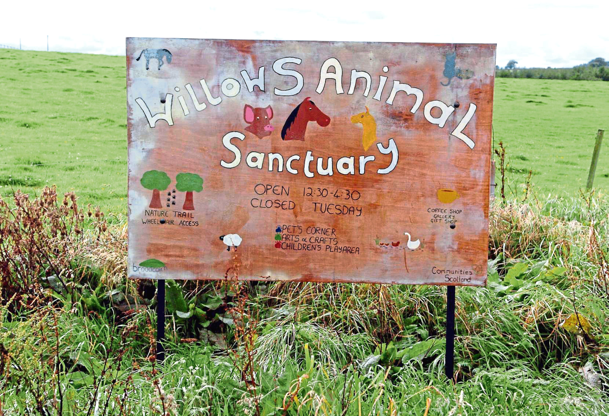 Willows Animal Sanctuary has asked people to donate to their lifeline campaign