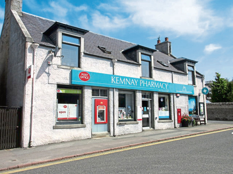 The former Kemnay Post Office.