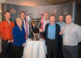 Denis Law, third from right, is joined by councillors, representatives of the Cruyff Foundation, the Denis Law Trust and Streetsport