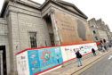 The Music Hall in Union Street Aberdeen continues to be renovated. Picture by COLIN RENNIE   October 24, 2018.