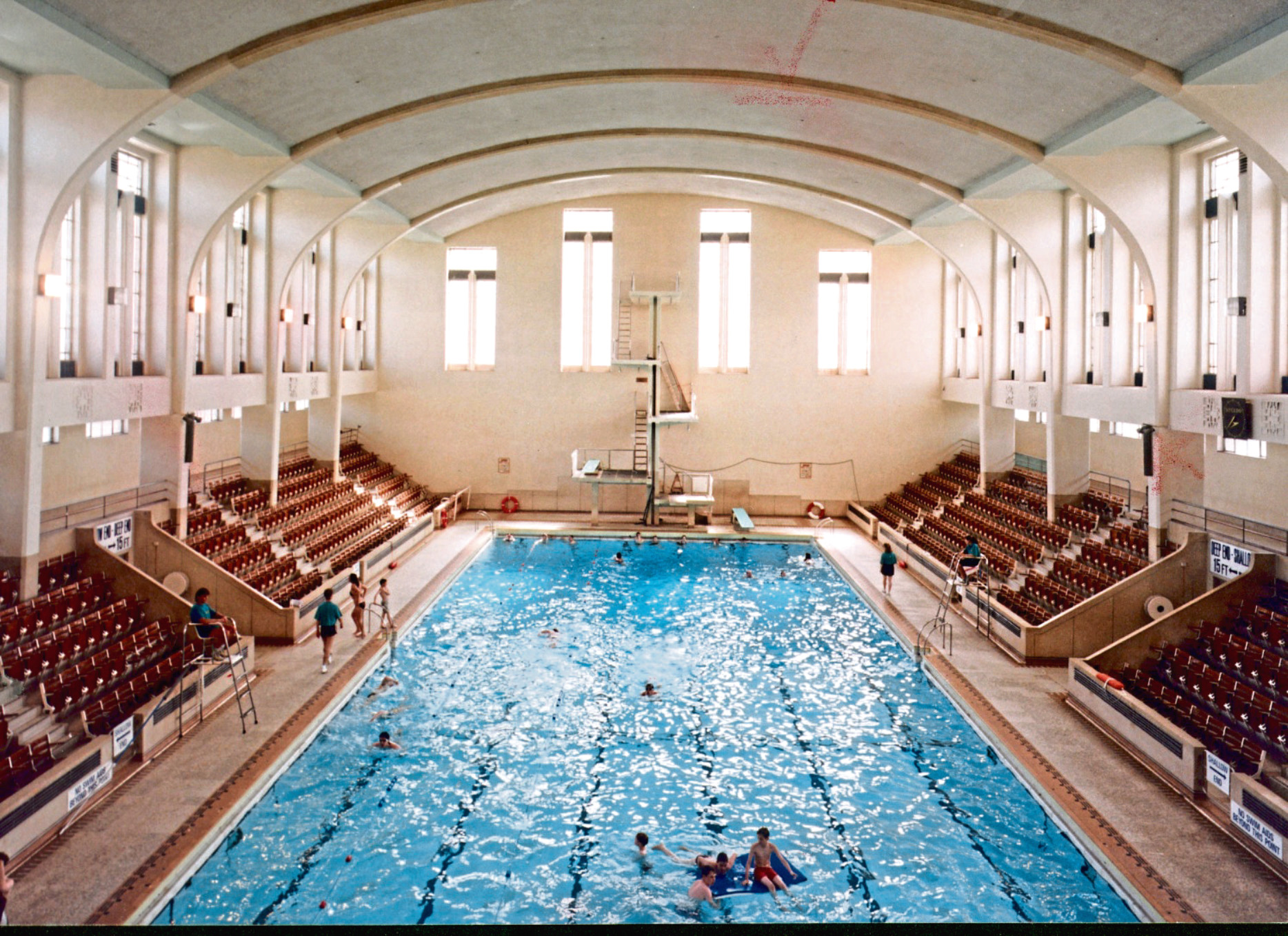 Bon Accord Baths and Leisure Centre when it was open