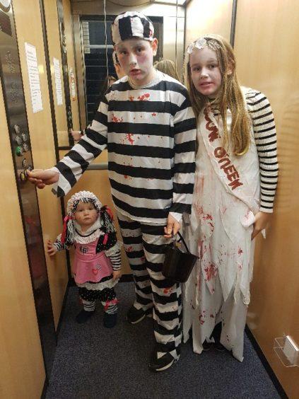 Amber, Jayden and Annaleigh Wilson