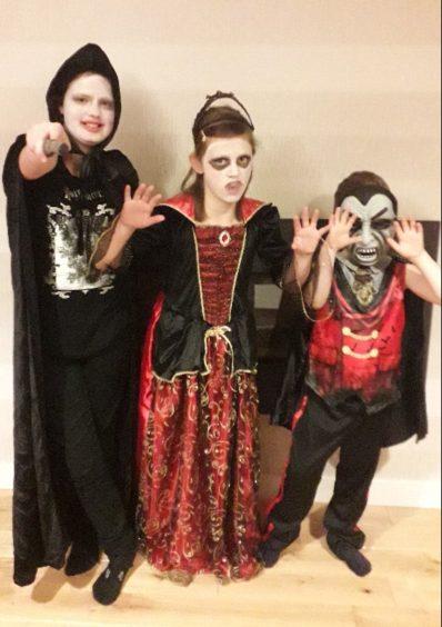 Bethany, Amy and Daniel Melvin