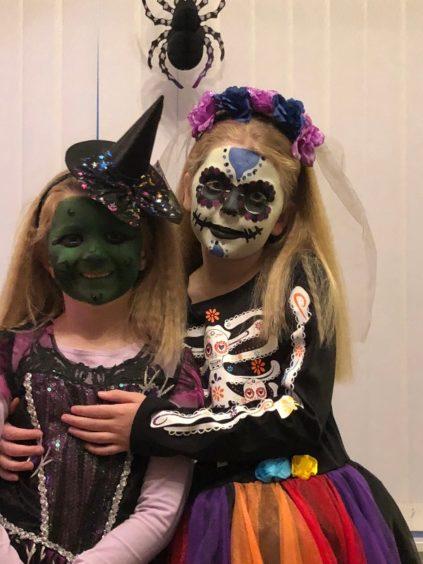 Caitlin and Bethany