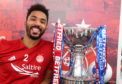 Shay Logan with the Betfred Cup.