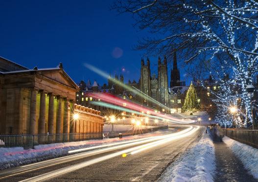 Edinburgh at Christmas