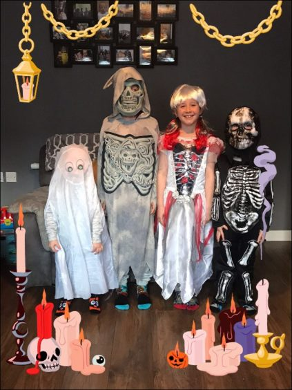 Jack, Aiden, Alyssa and Riley