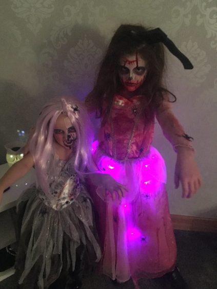 Nevaeh and Aalisya