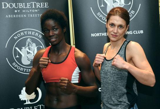 Ellen Simwaka and Kristen Fraser.