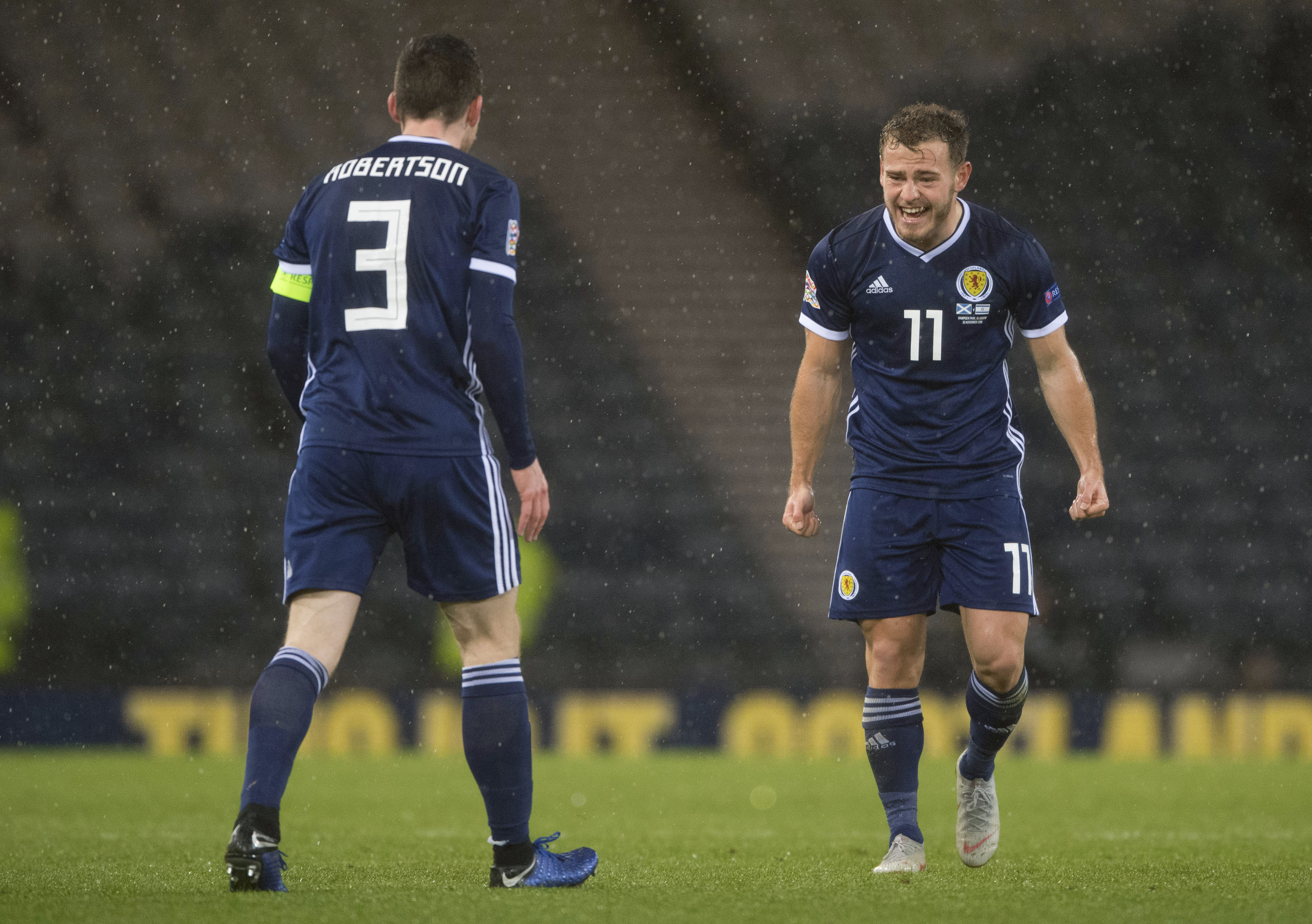 McLeish led Scotland to a Nations League group win over Israel and Albania which secured this second chance at European Championship qualification.