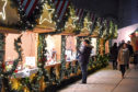 The Christmas Village opened last month and is due to run until Hogmanay