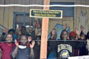 Alan said the living conditions at the Kenyan children's home were very basic