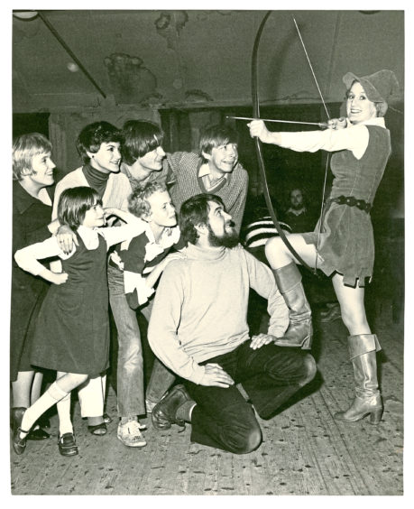 1981: The stars of Babes in the Wood were hioping to to hit the bullseye with their production at the Capitol Cinema