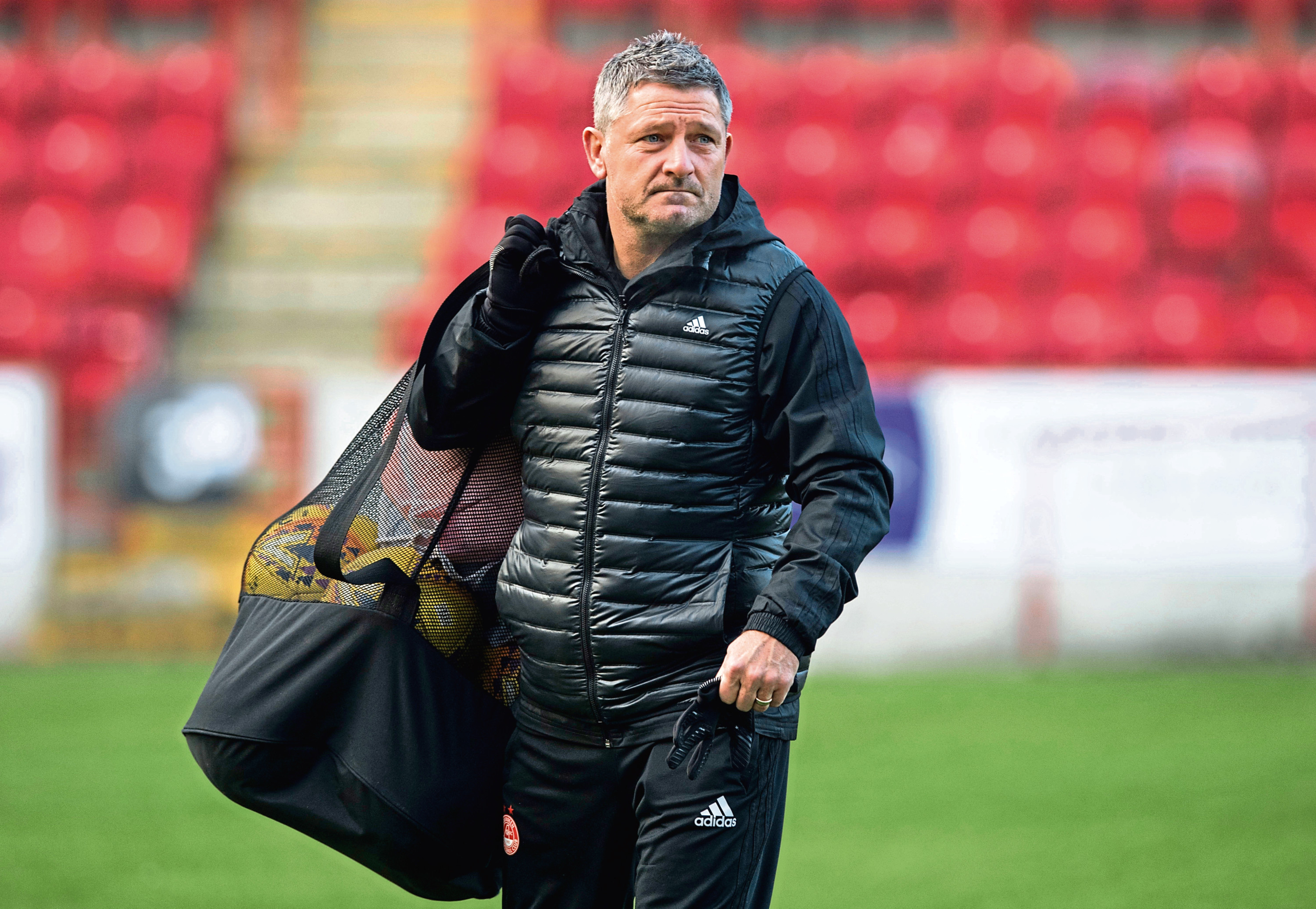 Aberdeen assistant manager Tony Docherty.